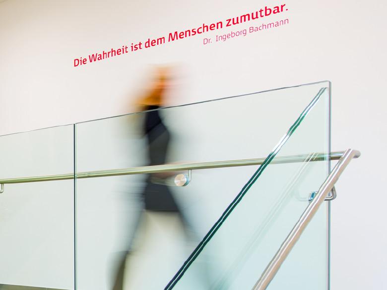 Zitat Bachmann © Schuh
